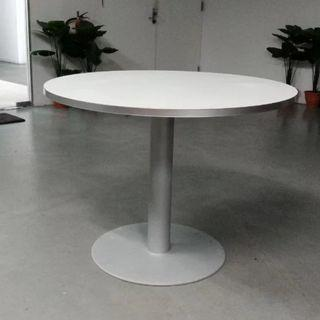 Used Round Top Tables with Heavy Metal Base - 5 left*