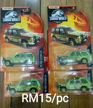 Matchbox Ford explorer Jurassic world