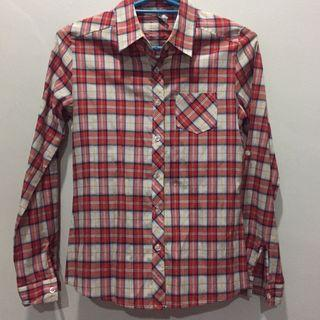 Ladylike Flannel Checkered Shirt