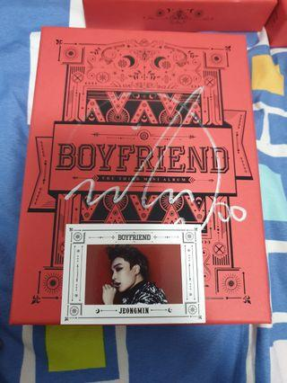 "Boyfriend Mwave sign 3rd mini Album ""Witch"""