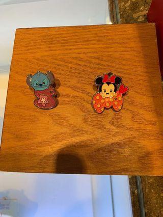 徵求 ISO 尋找Tsum Tsum 字母 stitch 交換 Disney pin 迪士尼徽章