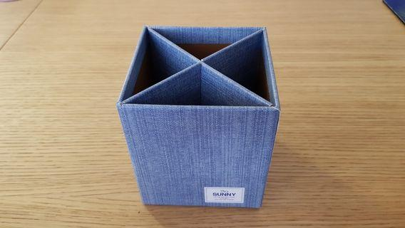 🚚 Stationery Holder (Blue) Made from Nature (I.e. Cardboard), New