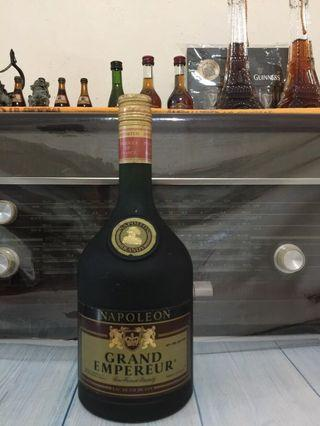 1000 ml 1970  Old vintage grand empereur  Napoleon