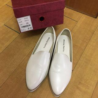 Oriental traffic 厚底鞋 ($60)