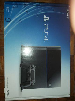 PS4主機連4隻game