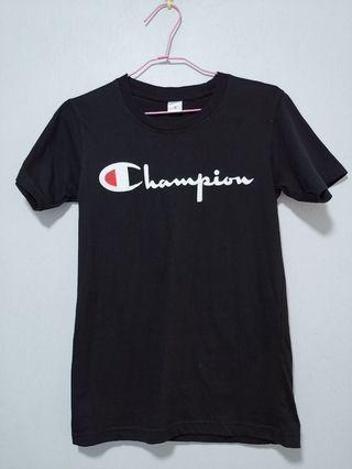 Champion and Stussy tee