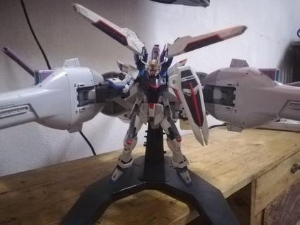 Gundam Collection Meteor Unit Gundam Seed Destiny 1/400 + freedom 1/144