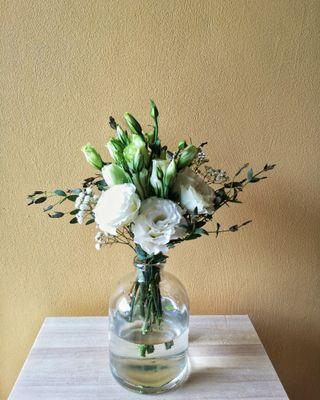 Glass Bottle Vases (RENT)