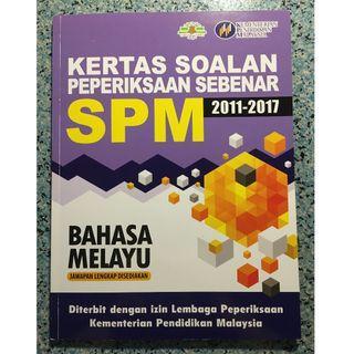 Past Year SPM Papers 2011-2017 (Bahasa Melayu)