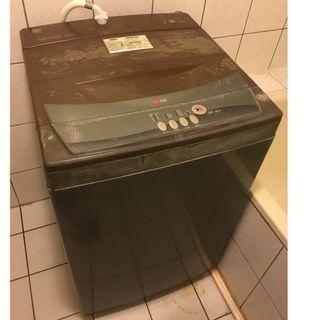 自售二手LG樂金韓製直立式7公斤洗衣機