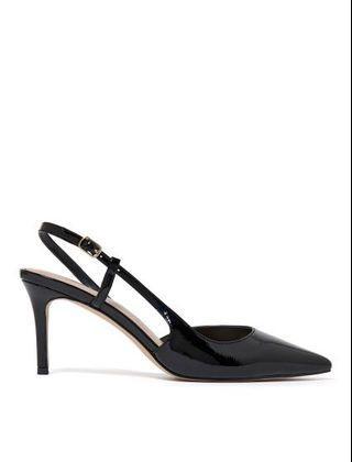 Black Slingback Heels from Forever New