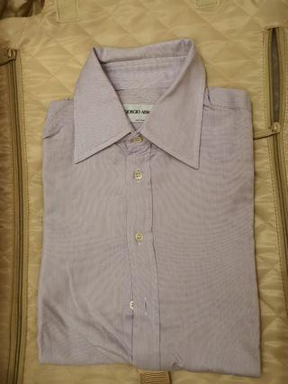 Giorgio Armani shirt 14.5 men 恤衫