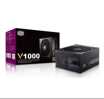 🚚 Cooler Master V1000 80+ Gold Fully modular PSU