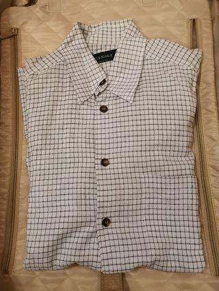 Canali shirt men 15.5 恤衫