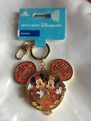 100% New 米奇米妮 結婚鎖匙扣 Mickey Mouse Minnie Mouse Wedding Keychain