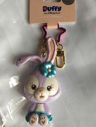 100% New 全新 Stella Lou keychain with mirror 鎖匙扣 Hong Kong Disneyland 香港廸士尼樂園