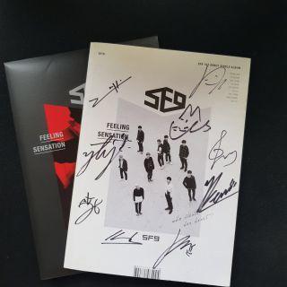 SF9 Signed album
