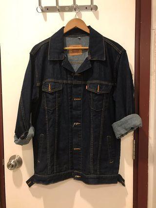 Levis Denim Jacket Size XXL Like New