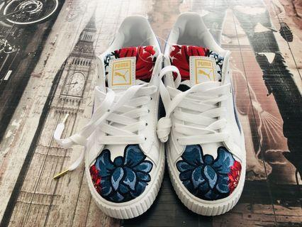 (READY STOCKS) Puma Floral Embroidery Female sneakers
