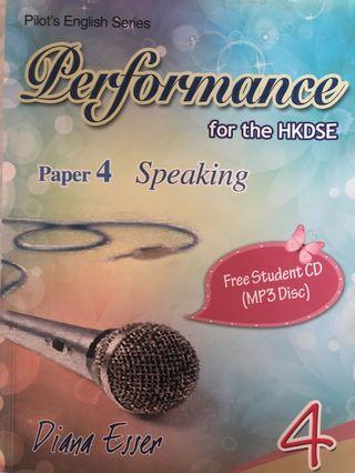 Performance for the HKDSE Paper 4 Speaking (4)