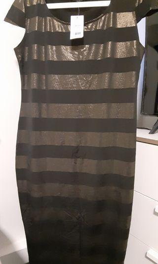 Dorothy Perkins long dress in Stripes