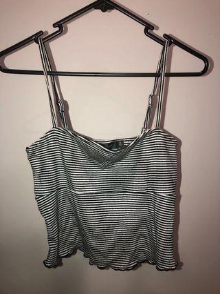 Striped Glassons Top