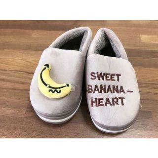 🚚 📣全新✨ 兒童香蕉鋪毛室內鞋👦🏻🍌