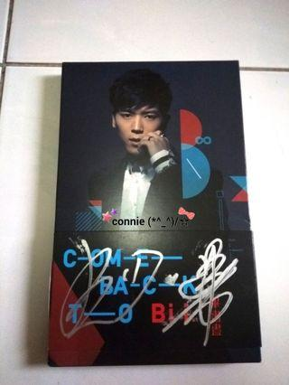Bii Come back to Bii Albums with signature