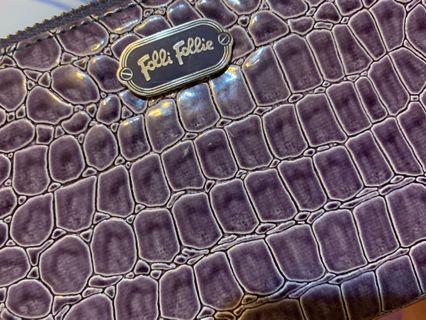 Folli follie紫色長夾