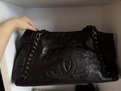 Authentic Chanel Large tote