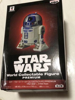 Banpresto Star War 眼鏡廠 星球大戰 R2-D2 World Collectable Figure Premium