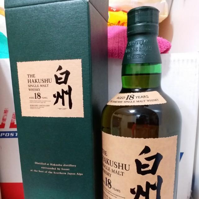 白州18 日本威士忌 非 響 竹鶴 余市 山崎