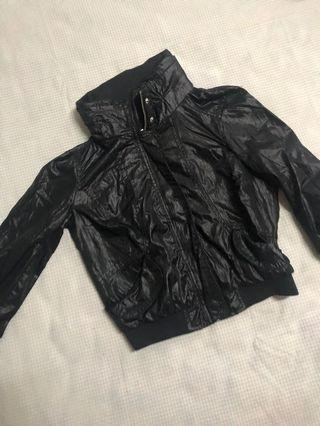Zara Trafaluc Basic Black Biker Jacket