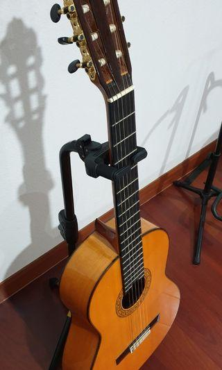 Handmade flamenco Casa Parramon guitar cypress wood from Barcelona
