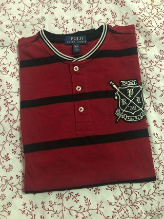 Polo Ralph Lauren Striped Cotton Mesh Henley