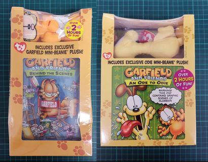 Garfield DVD 加菲貓DVD連公仔