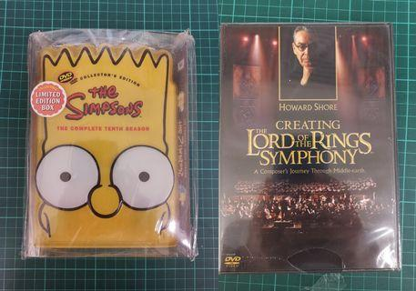 The Simpsons阿森一族The Lord of the Rings Sympony魔戒 DVD