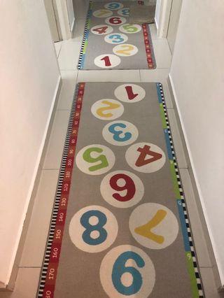 2 pieces IKEA children play mat