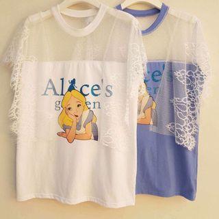 「正韓」假兩件Alice's正韓上衣