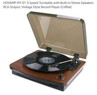 Hoavmp MT-03 Record Player