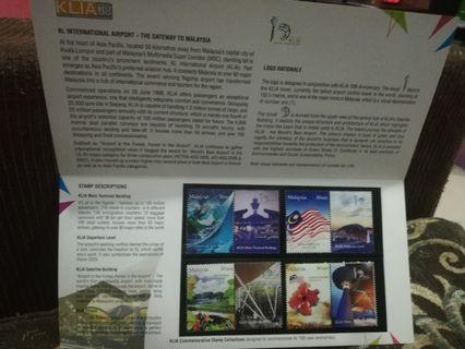 KLIA - Stamp collections