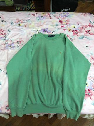Polo Ralph Lauren Green Vintage Sweater