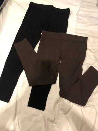 Set of 2 MNG Casual Sportswear Leggings (US XS)