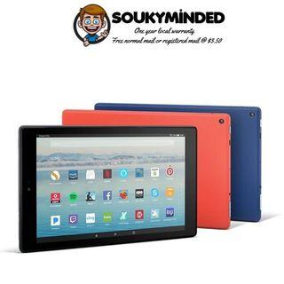 """[IN-STOCK] Fire HD 10 Tablet, 10.1"""" 1080p, 32 GB, With Special Offers, One Year Local Warranty"""