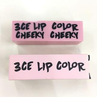 #BAPAU 3CE Lip Color Cheeky Cheeky