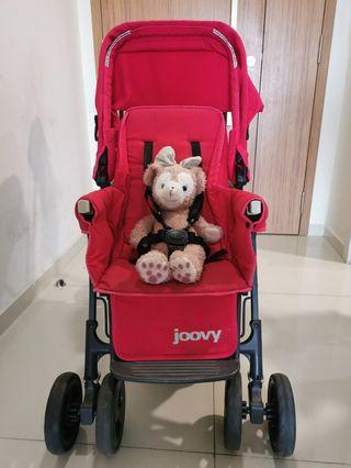 Joovy Ultralight sit and stand double stroller