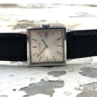 Hari Raya Special 20% off - IWC Schaffhausen Vintage Square Silver Dial Hand-Winding Women's Watch, 21mm