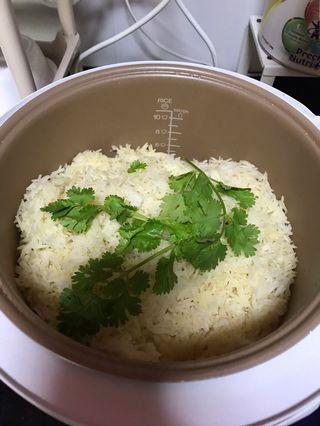 🚚 Nasi minyak with chicken tandoori