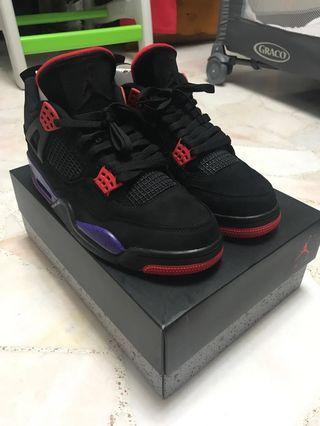 🚚 Air Jordan 4 Raptors US 9.5/UK 8.5