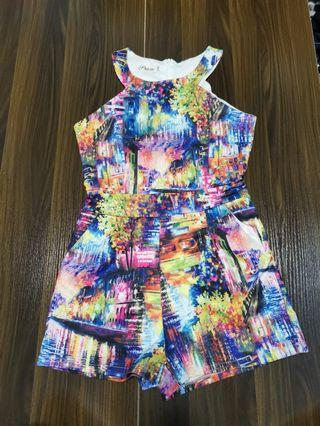 Colorful Abstract Romper